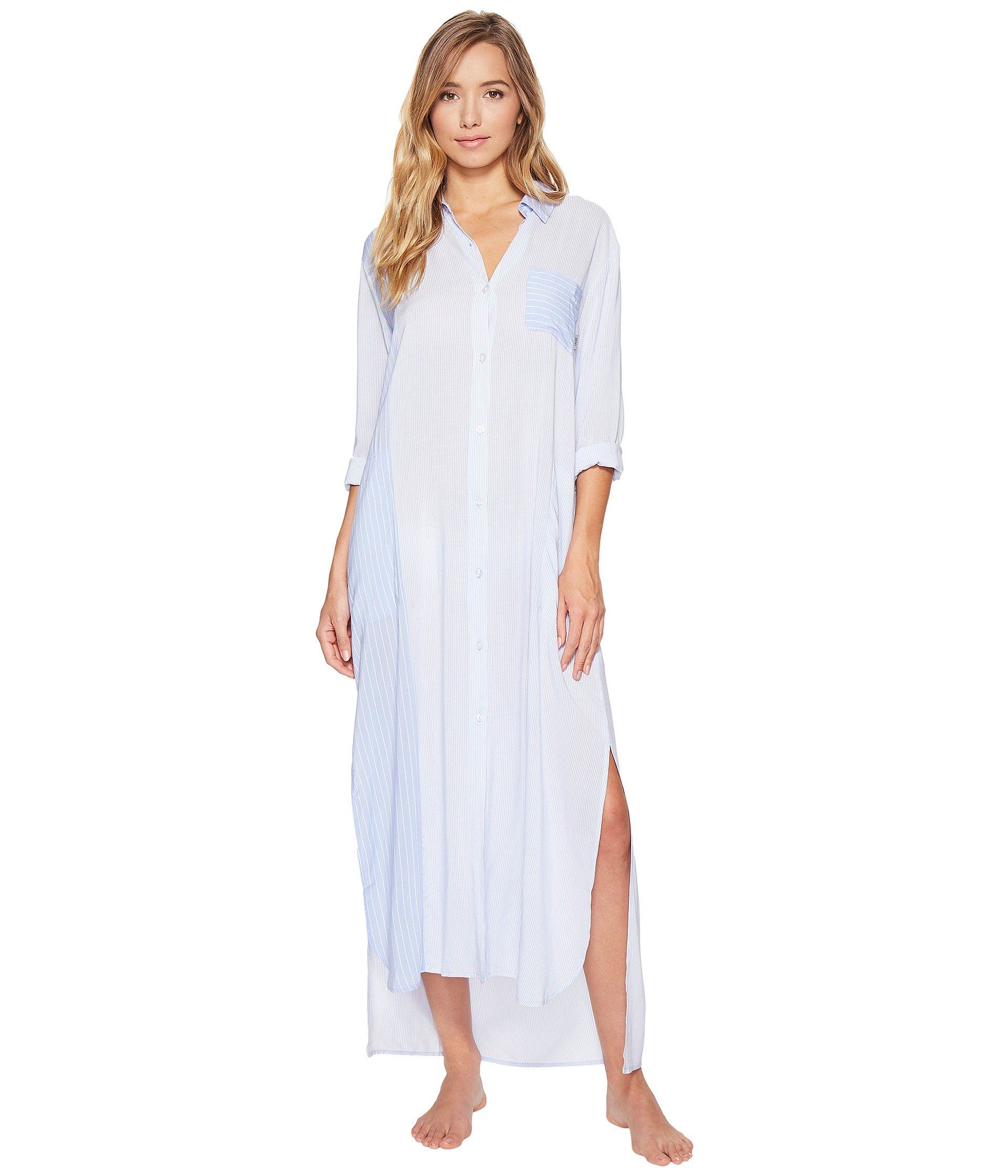 Babydoll DKNY Fashion Long Sleeve Maxi Robe  + DKNY en VeoyCompro.net