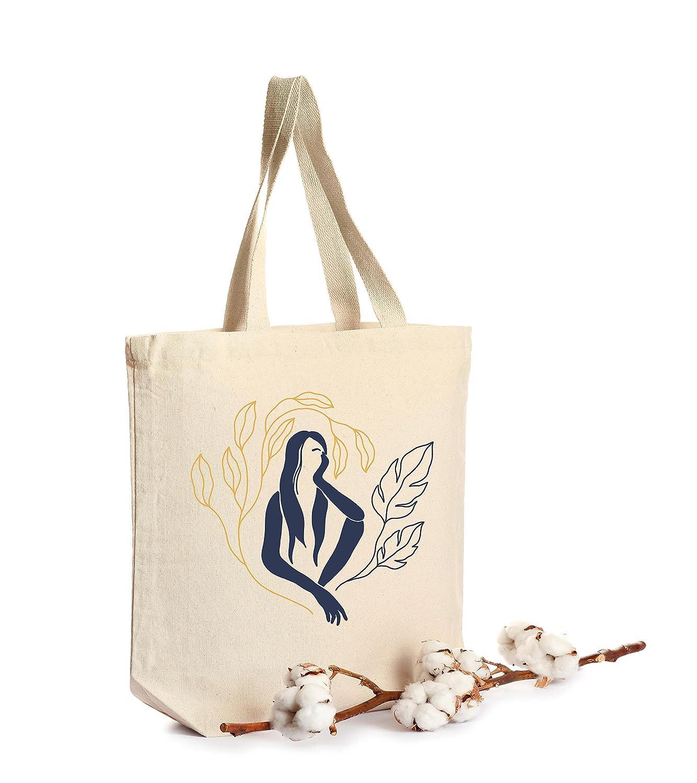 Outlet SALE Woman Tote bag Trust Organic Large Bag Canvas