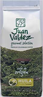 JUAN VALDEZ Colombian Strong Flavored Huila Ground Coffee | Cafe Colombiano