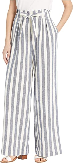 High-Waisted Stripe Pants
