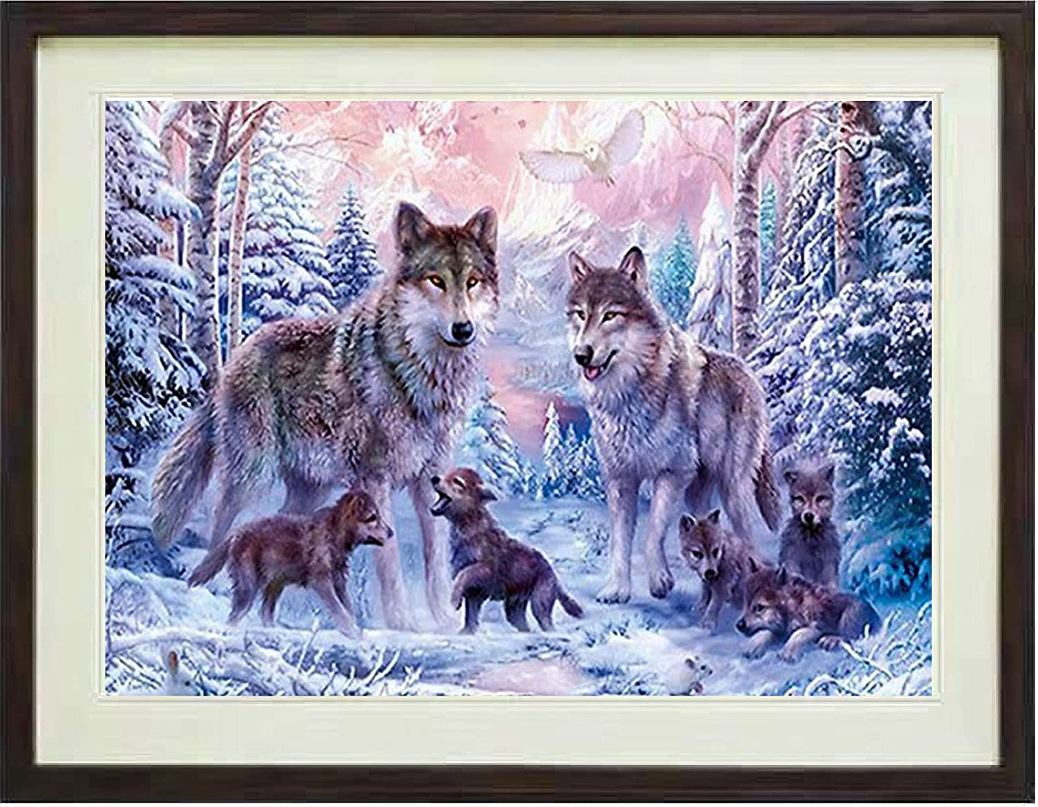 Wolf Diamond Super Special Seasonal Wrap Introduction SALE held Painting Kits for LUHSICE 60x90cm Adults by