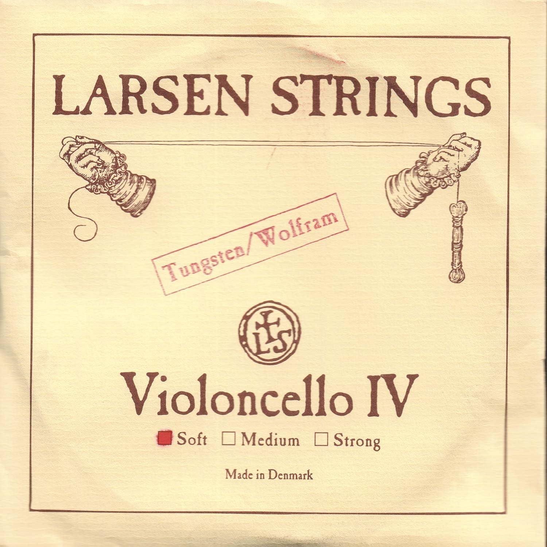 Larsen Free Shipping New 4 Cello C String Spring new work Tungsten-Steel Soft