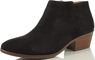 black suede tie booties