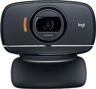 Logitech HD Webcam C525, Portable HD 720p Video Calling with Autofocus - Black