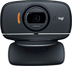 Logitech HD Webcam C525, Portable HD 720p Video Calling with Autofocus - Black