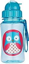 Skip Hop Zoo Straw Bottle, Owl, 12 Ounce