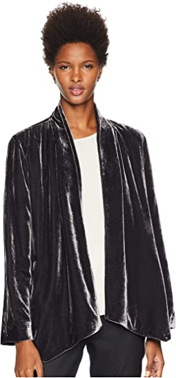 Velvet Angled Shaped Jacket