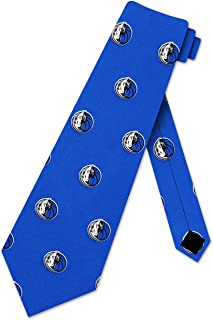 Dallas Mavericks Check Poly Necktie