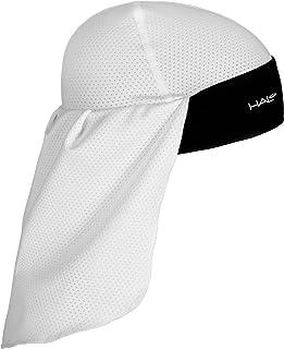 کلاه & دم جمجمه محافظ خورشیدی Halo Headband خورشید ، سفید