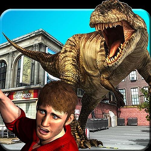 Dinosaur Attack City Hunting