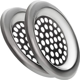 """OFXDD Hair Catcher Plug, 3 inch Sink Strainer 3"""", Kitchen Sink Drain Protector, Drain Protector Hair Catcher, Steel Drain ..."""