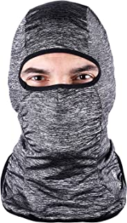 ICOCOPRO Lycra Fabrics Balaclava - Protects from Wind, Sun, Dust Spring Summer Face Mask Helmet Liner Breathable, Sweat-Absorbent,Quick Dring
