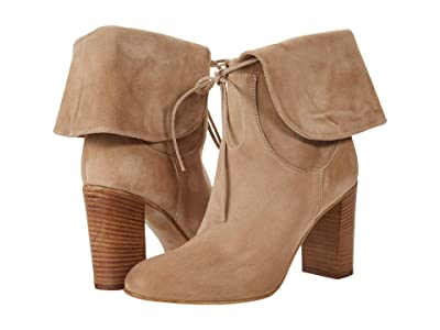 Free People Mila Heel Boot (Light Grey) Women