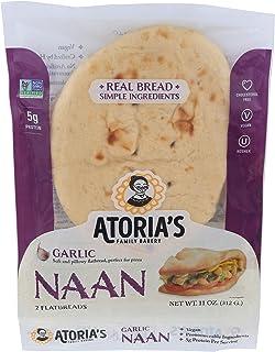 California Lavash, Naan Garlic, 11 Ounce