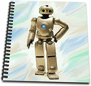 "3dRose db_4461_2 Robot-Memory Book, 12 by 12"""