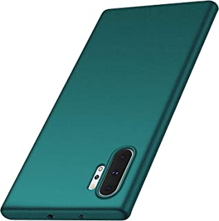 Arkour Galaxy Note 10 Plus Case, Galaxy Note 10 Plus 5G Case, Minimalist Ultra Thin Slim Fit Non-Slip Matte Surface Hard PC Cover for Samsung Galaxy Note 10+ (Gravel Green)