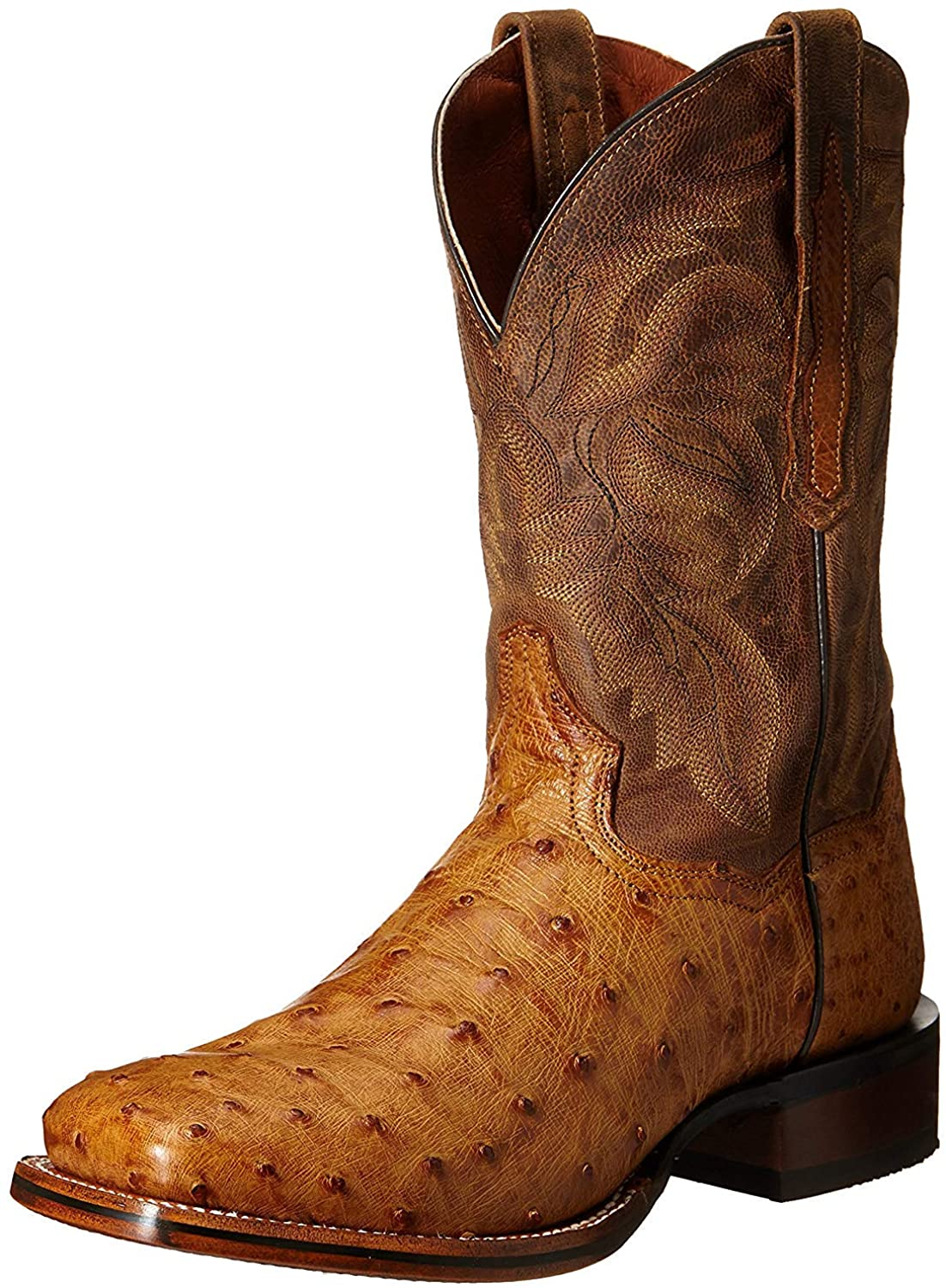 Dan Post Boot Company Mens Square Ostrich Dress Outlet sale feature Alamosa OFFicial site Toe