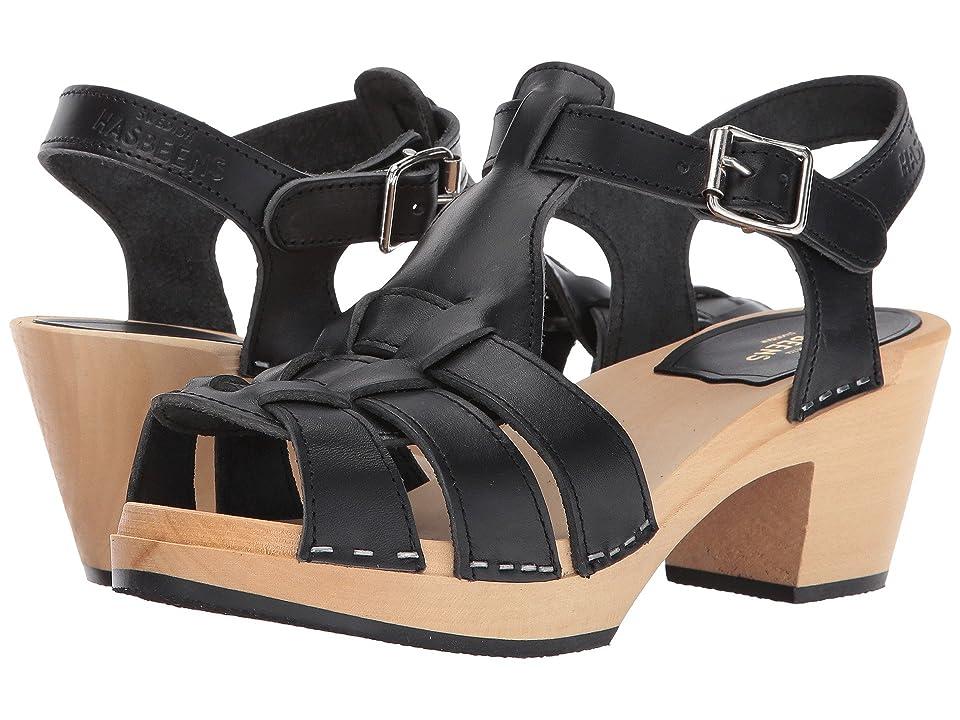 Swedish Hasbeens Grunge High (Black) High Heels