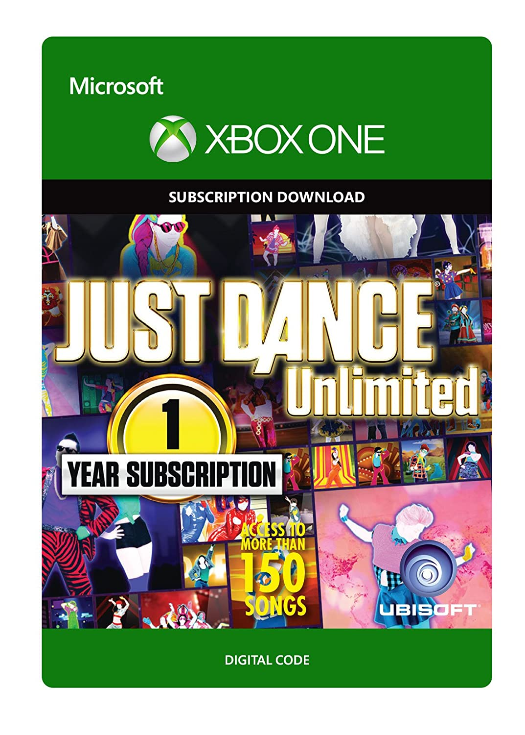 Just Attention brand Brand new Dance Unlimited: 1 Year Subscription Digital Xbox Cod - One