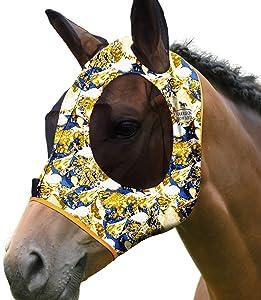 Harrison Howard Super Comfort Horse Fly Mask