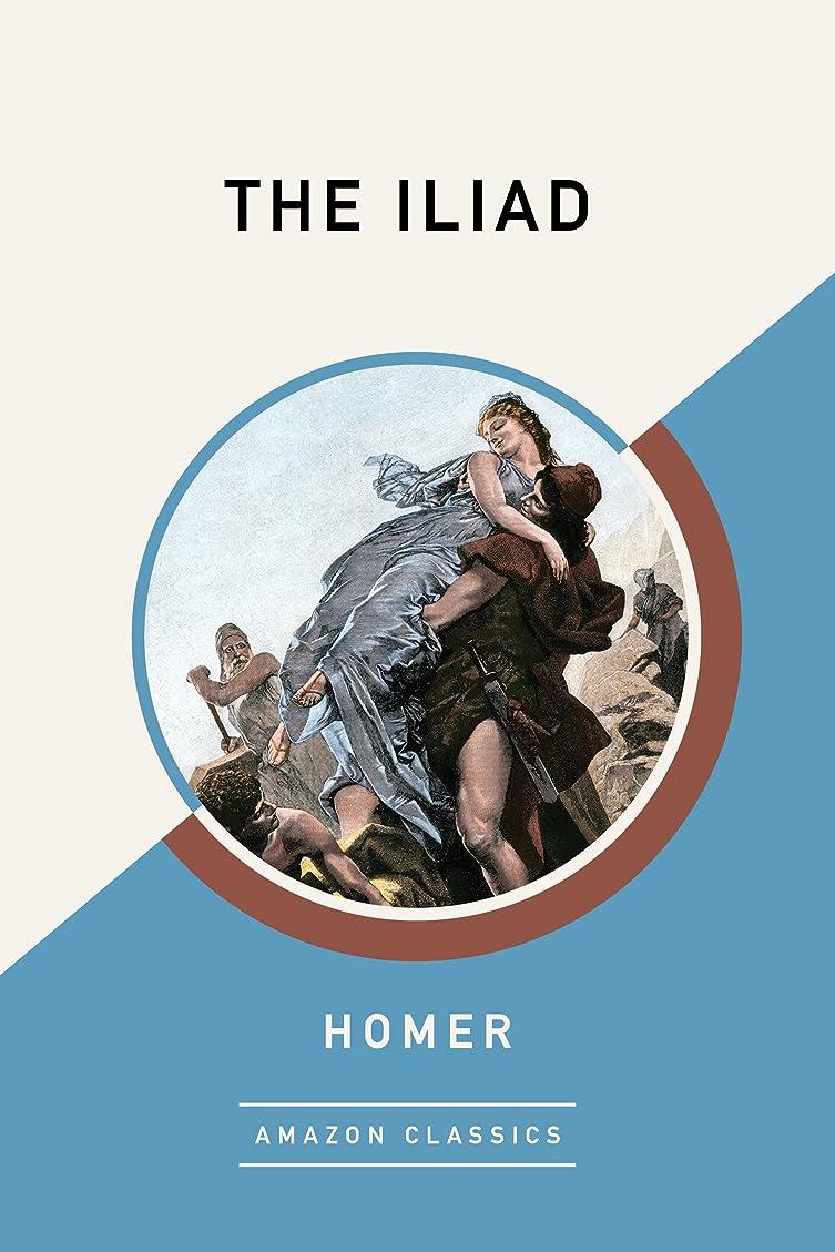 忌避剤お風呂を持っている象The Iliad (AmazonClassics Edition) (English Edition)