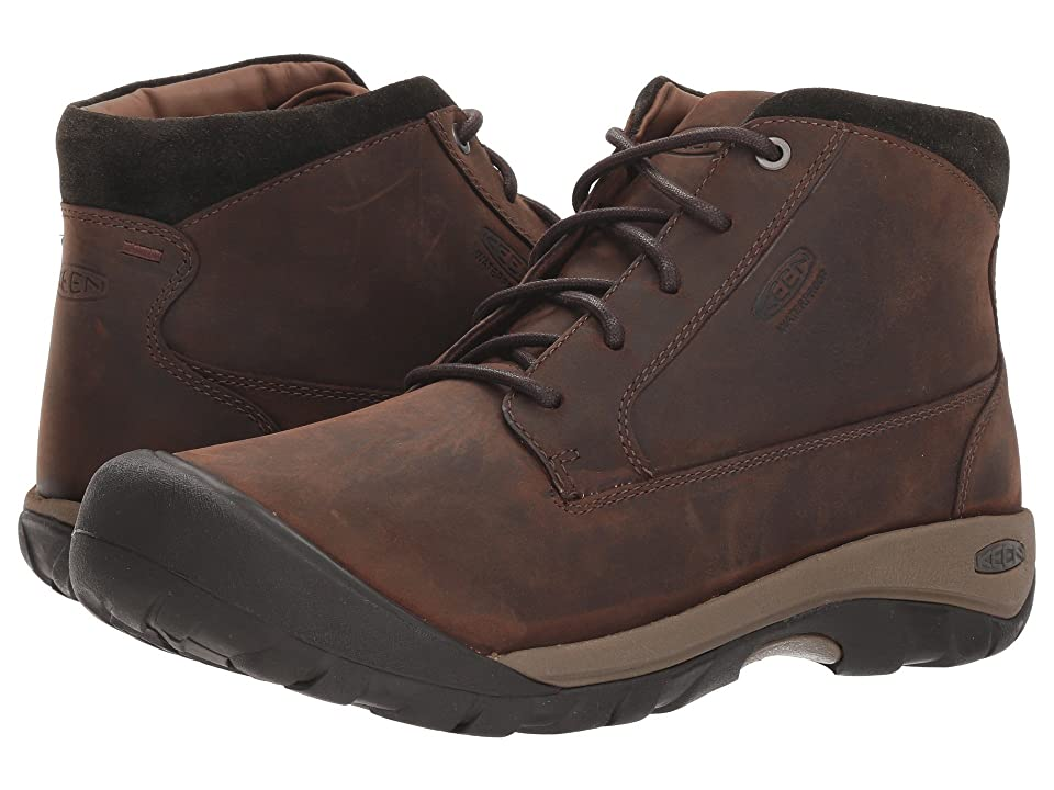 Keen Austin Casual WP Boot (Chocolate Brown/Black Olive) Men