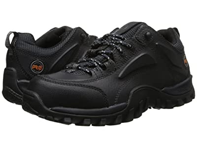 Timberland PRO Mudsill Low Steel Toe (Grease Black Oiled) Men