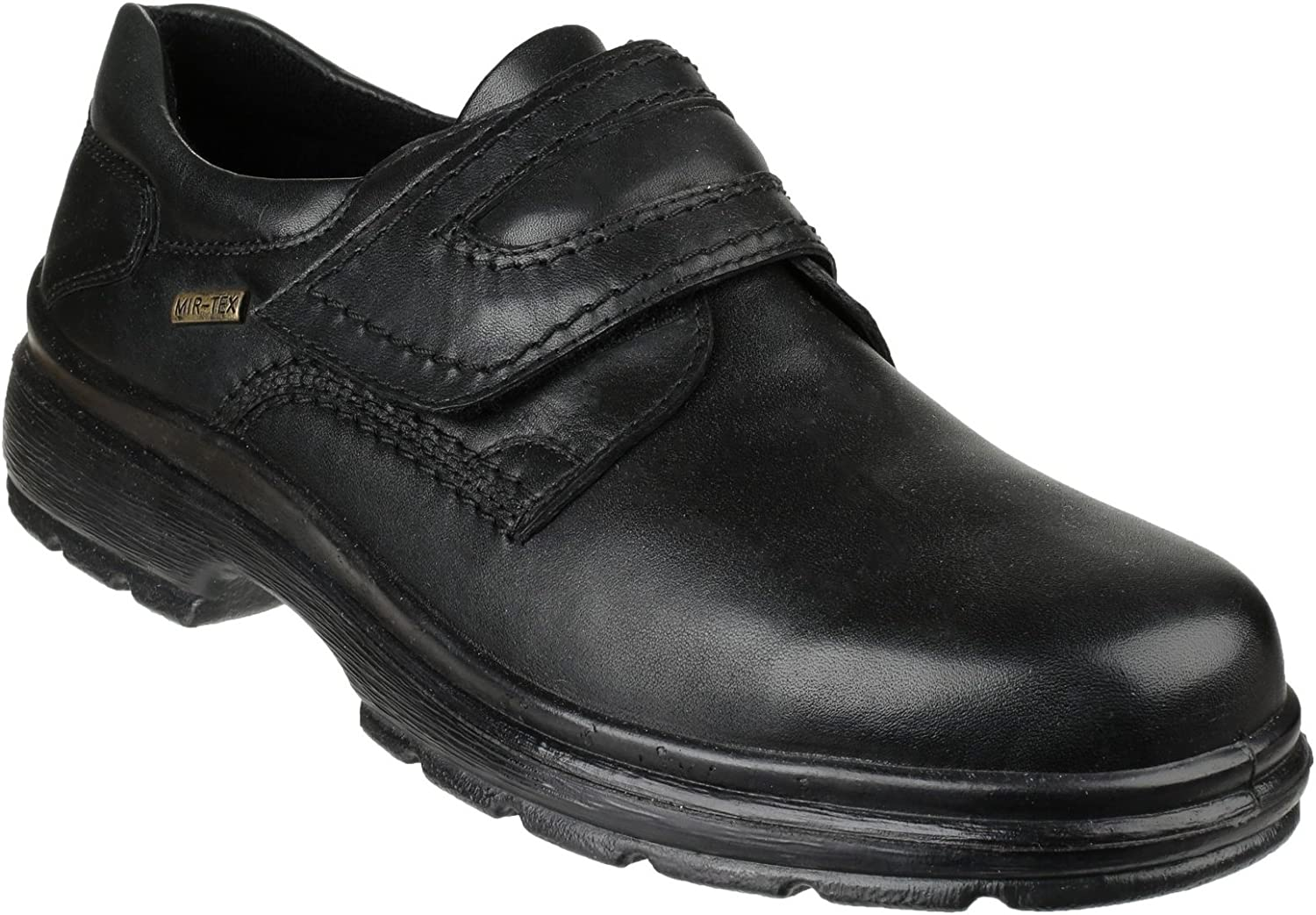 Cotswold Mens Birdlip Waterproof Leather Touch Fastening Formal shoes