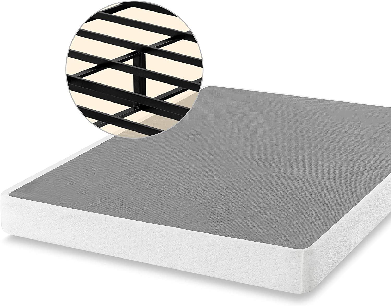 ZINUS 7 Inch Smart Tucson Mall Metal Quality inspection Spring Mattress Foundation Stro Box