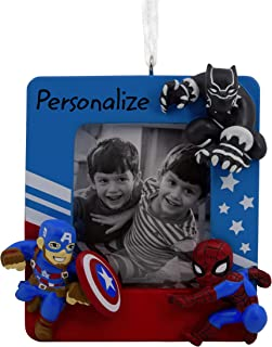 Hallmark Christmas Ornaments, Marvel Super Heroes Personalized Picture Frame Ornament