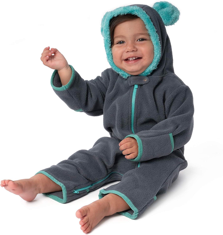 baby deedee Fleece Bear Baby Bunting Warm shop Super sale Romper