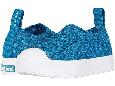 Native Kids Shoes Jefferson 2.0 Liteknit Low (Toddler/Little Kid) (Depth Melange/Shell White) Kid
