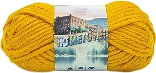 Lion Brand Yarn Hometown USA Yarn, Madison Mustard, Pack of 1
