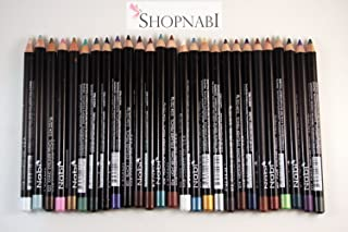 24pcs Nabi Eyebrow and Eyeliner Pencil