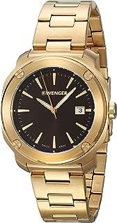 Edge Index Quartz Movement Pink Gold Dial Men's Watch 01.1141.114