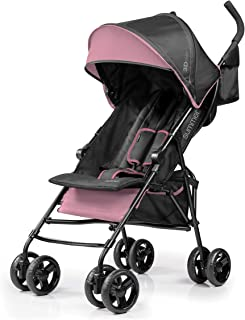 Summer Infant 3Dmini® Convenience Ultra Light weight/Compact fold Stroller/Pram with Storage pouch & dual cup holders suit...