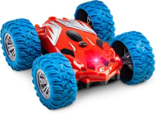 Power Your Fun Cyclone Mini RC Car for Kids – Double Sided Fast Remote Control Mini..