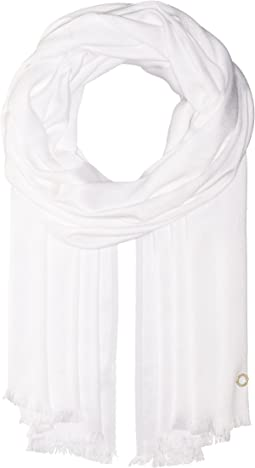 Calvin Klein Solid Satin Finish Pashmina