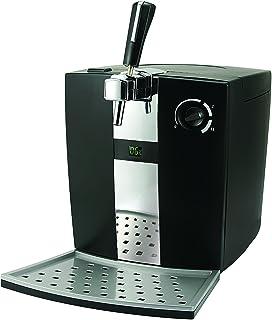 Sogo: SS-12610 Dispensador de cerveza de barril 5l, Kit Artesanal, Tirador de cerveza con sistema de Refrigeración, Estillo tradicional, 72W, Color: Negro.