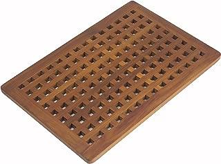 AquaTeak The Original Grate Teak Bath Shower Mat