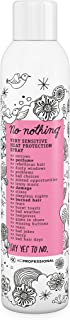 No nothing Very Sensitive Heat Protectant Spray - Fragrance Free Heat Protector Spray, Unscented, 100% Vegan - 4.97 oz