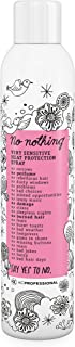 No nothing Very Sensitive Heat Protectant Spray - Fragrance Free Heat Protector Spray, Unscented, 100% Vegan - 6.76 oz