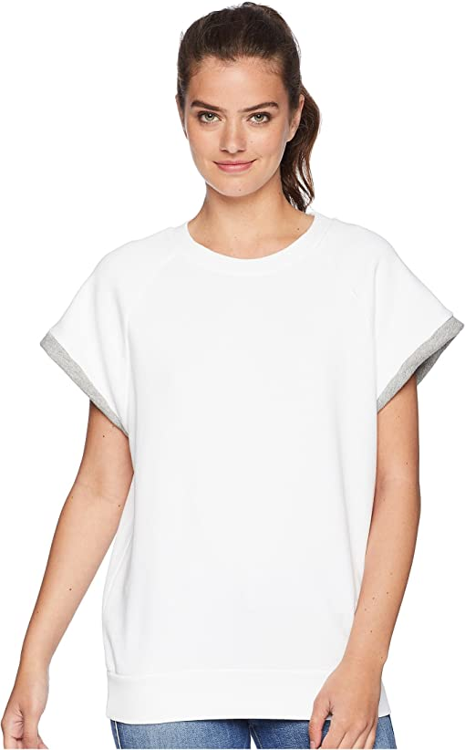 Optic White/Heather Grey Contrast