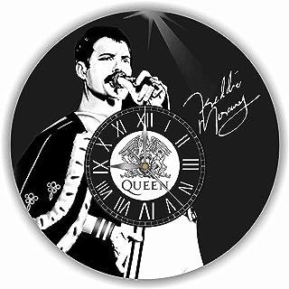 フレディ・マーキュリー(Freddie Mercury)11.4''掛け時計あなたの友人やご家族のための最高のプレゼントです。プラスチック製...