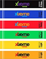 Resistance Loop Bands Set - 6 LEVELS - XTREME BANDS For Exercise, Fitness & Workout, Exceptional 6 BAND LOOP SET....