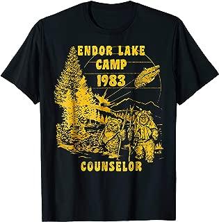 Ewok Endor Lake '83 Camp Counselor Graphic T-Shirt