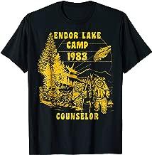 Star Wars Ewok Endor Lake '83 Camp Counselor Graphic T-Shirt