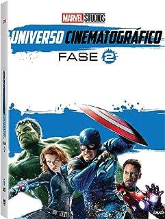Marvel Studios Universo Cinematográfico Fase 2 Dvd