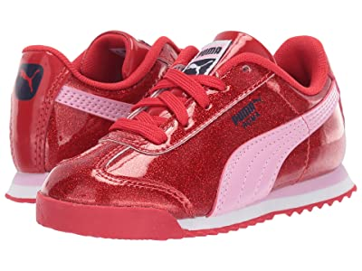 Puma Kids Roma Glam (Toddler) (Hibiscus/Pale Pink) Girl