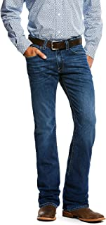 ARIAT Men's M5 Slim Fit Bootcut Jean
